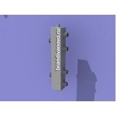 Гидравлический разделитель (гидравлическая стрелка) на 2 контура ИСКАНДЕР ГС-2.1К (25-25)