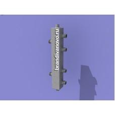 Гидравлический разделитель (гидравлическая стрелка) на 2 контура ИСКАНДЕР ГС-2К (20-20)